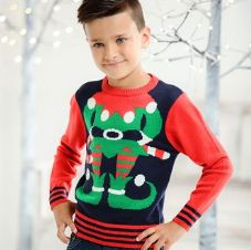 KIDS ELF KNITTED JUMPER